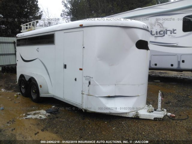 click here to view 2004 CONTRACT MANUFACTURING HORSE TRAILER at IBIDSAFELY