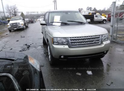 Salvage 2010 LAND ROVER RANGE ROVER for sale