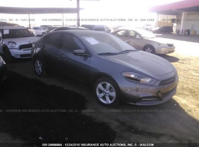 Salvage 2015 DODGE DART for sale