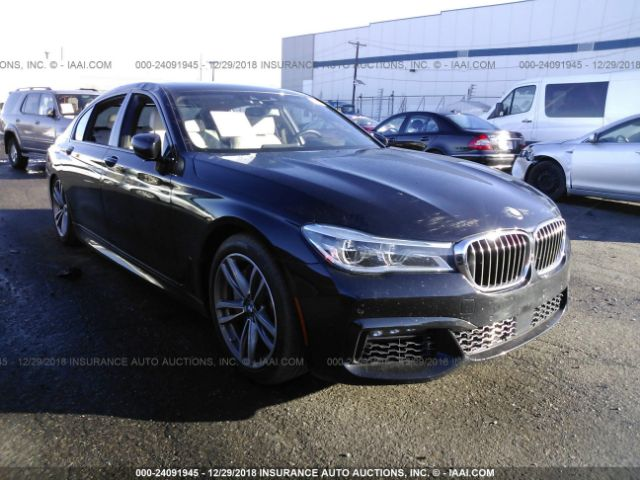 2016 BMW 750 - Small image. Stock# 24091945