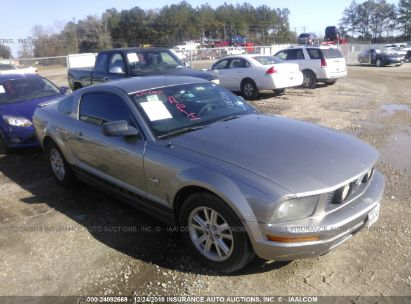 Salvage 2009 FORD MUSTANG for sale