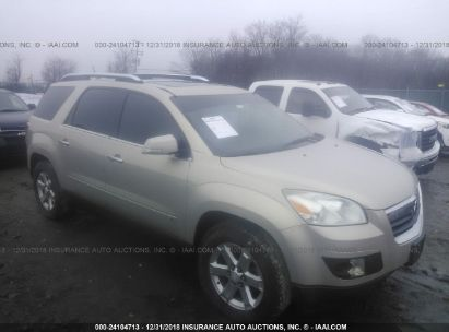 Salvage 2008 SATURN OUTLOOK for sale
