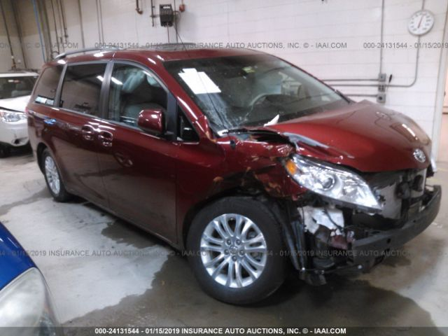 Salvage 2014 TOYOTA SIENNA - Small image. Stock# 24131544