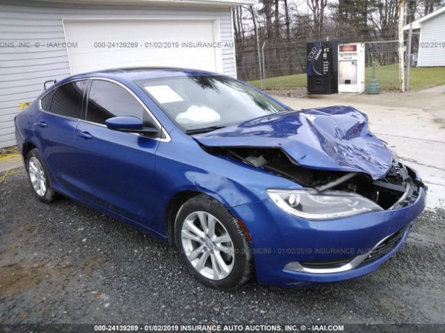 click here to view 2015 CHRYSLER 200 at IBIDSAFELY