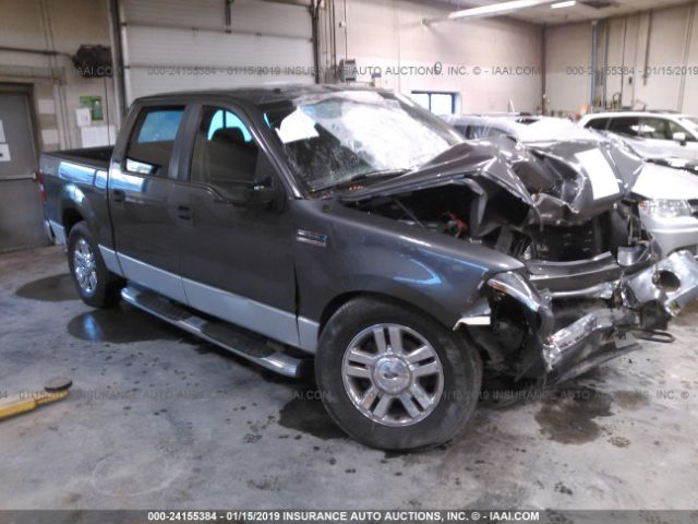 Salvage 2008 FORD F-150 - Small image. Stock# 24155384
