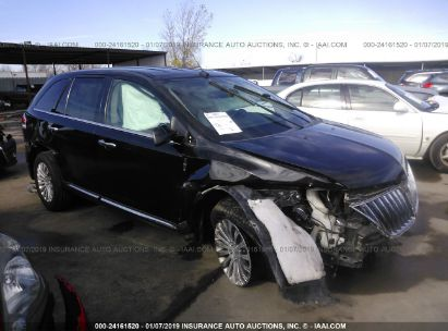 Salvage 2014 LINCOLN MKX for sale