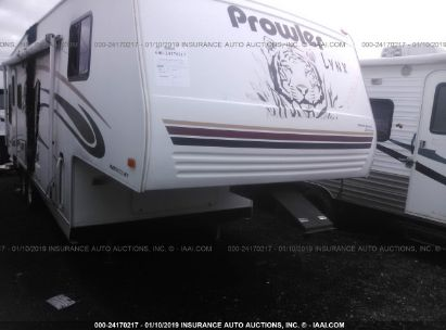 Salvage 2004 FLEETWOOD PROWLER for sale