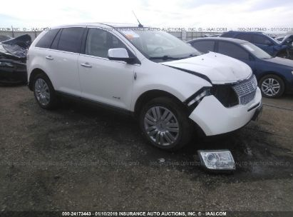 Salvage 2009 LINCOLN MKX for sale