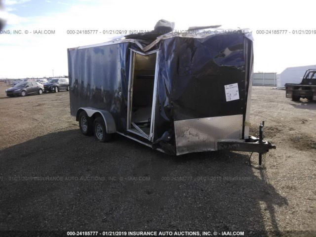 click here to view 2018 COVERED WAGON TRAILE CW7X16TA2 at IBIDSAFELY