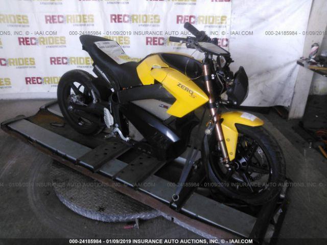 2013 ZERO MOTORCYCLES INC S - Small image. Stock# 24185984
