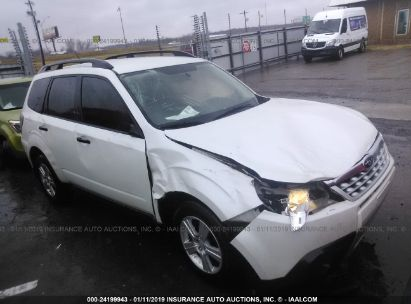 Salvage 2012 SUBARU FORESTER for sale