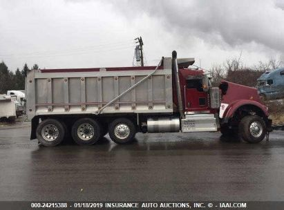 Salvage 2016 KENWORTH W900 for sale