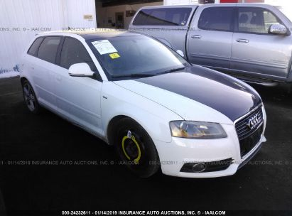 Salvage 2009 AUDI A3 for sale