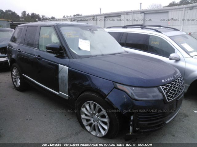 click here to view 2018 LAND ROVER RANGE ROVER at IBIDSAFELY