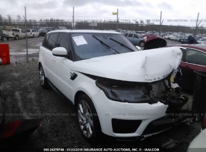 Salvage 2019 LAND ROVER RANGE ROVER SPORT for sale