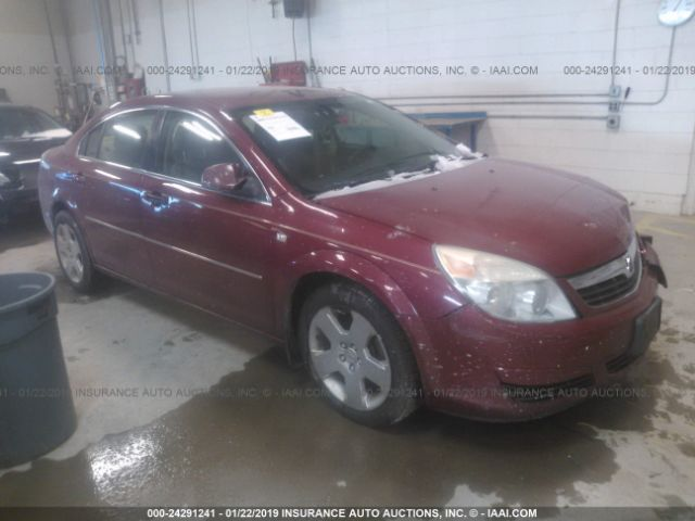 Salvage Title 2007 Saturn Aura 3 6L For Sale in Columbus OH