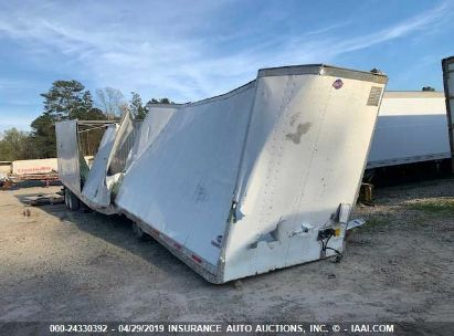 Salvage 2008 UTILITY TRAILER MFG TRAILER for sale