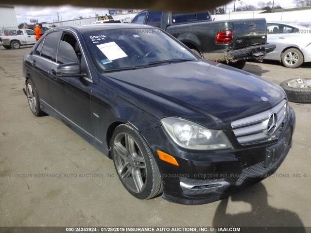 2012 MERCEDES-BENZ C - Small image. Stock# 24343924