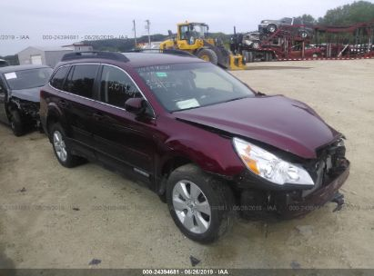 Salvage 2012 SUBARU OUTBACK for sale