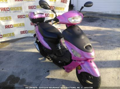 Salvage 2017 TAOTAO 50CC for sale