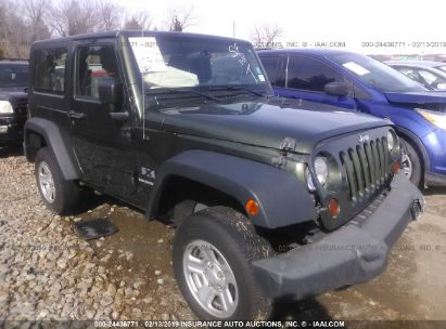 Salvage 2009 JEEP WRANGLER for sale