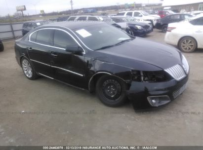 Salvage 2011 LINCOLN MKS for sale