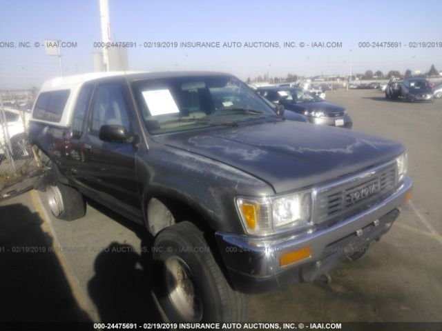 Salvage Title 1989 Toyota Pickup 2 4L For Sale in Ogden UT