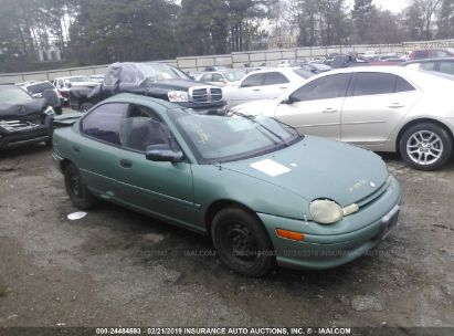 Salvage 1998 PLYMOUTH NEON for sale