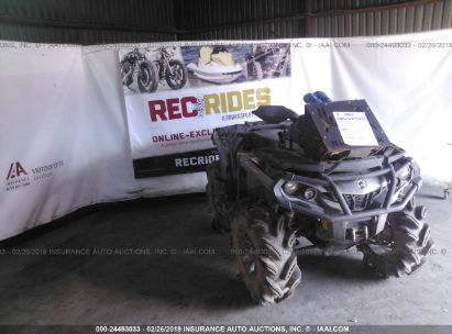 Salvage 2013 CAN-AM OUTLANDER for sale