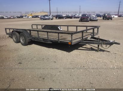 Salvage 2016 LAMAR TRAILER for sale