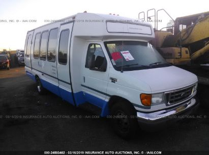 Salvage 2005 KRYSTAL BUS (E450) for sale