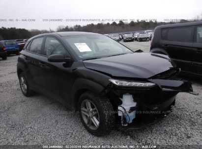 Salvage 2018 HYUNDAI KONA for sale