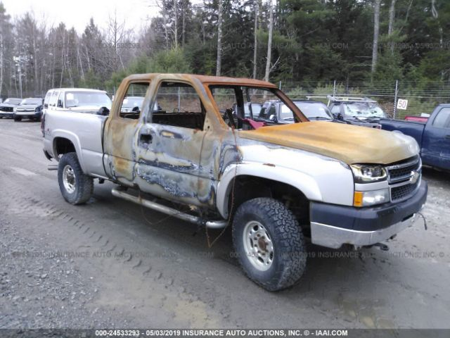 Salvage 2006 CHEVROLET SILVERADO 2500HD - Small image. Stock# 24533293