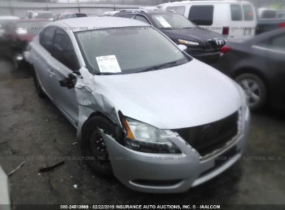 Salvage 2015 NISSAN SENTRA for sale