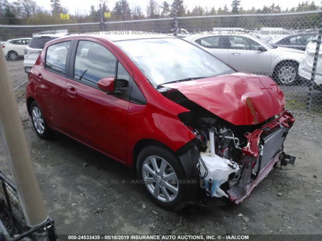 Salvage 2016 TOYOTA YARIS - Small image. Stock# 24533435