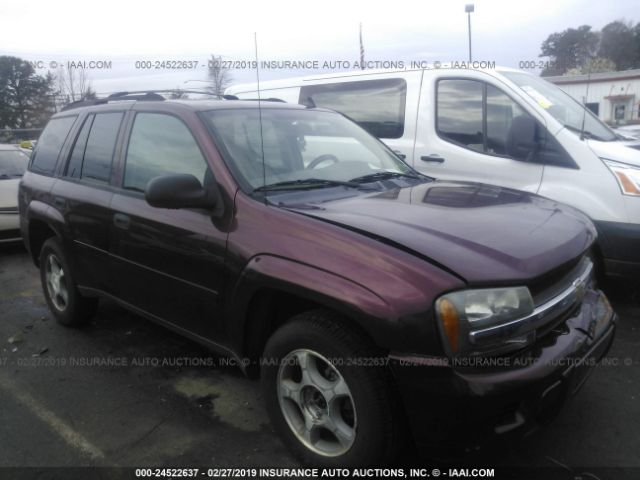 Salvage, Repairable and Clean Title Chevrolet Trailblazer