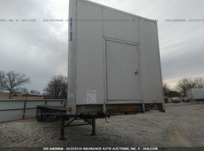 Salvage 2004 UTILITY TRAILER MFG FLATBED for sale
