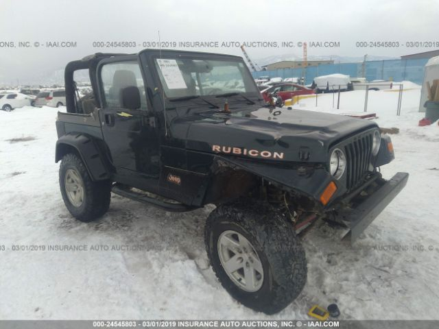 Salvage Title 2006 Jeep Wrangler / TJ 4 0L For Sale in East