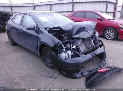 Salvage 2017 TOYOTA COROLLA for sale