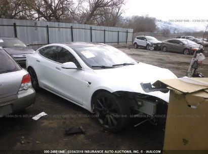 Salvage 2017 TESLA MODEL S for sale