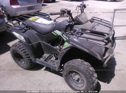 Salvage 2017 KAWASAKI KVF300 for sale