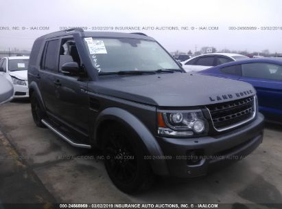 Salvage 2015 LAND ROVER LR4 for sale