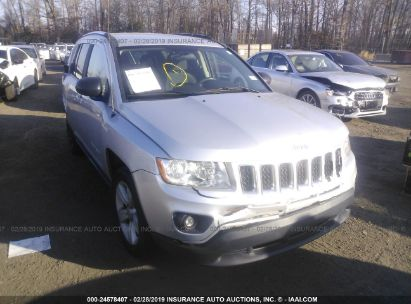 Salvage 2011 JEEP COMPASS for sale