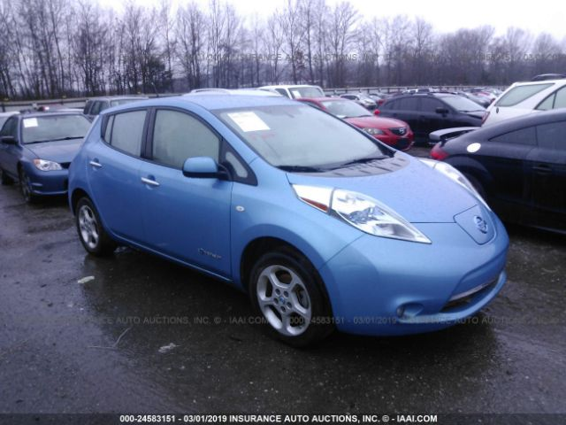 2017 Nissan Leaf Small Image Stock 24583151