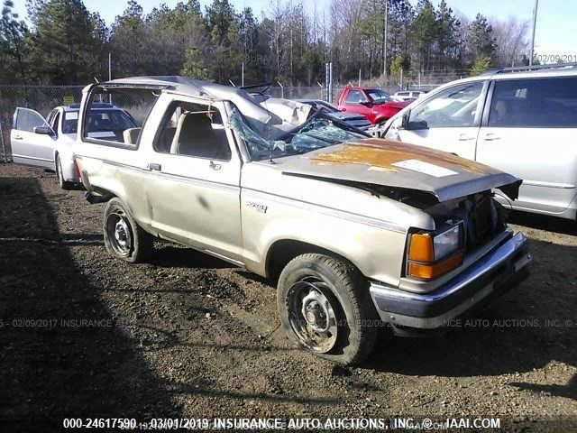 1989 FORD BRONCO II - Small image. Stock# 24617590