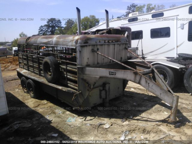 1981 GOOSENECK TRAILERS OTHER - Small image. Stock# 24603102