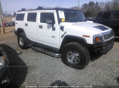 Salvage 2006 HUMMER H2 for sale