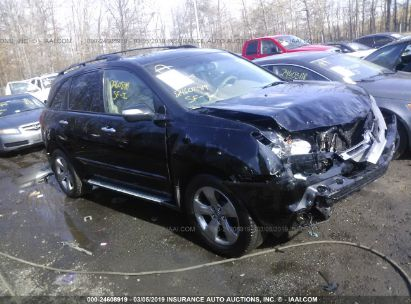 Salvage 2009 ACURA MDX for sale