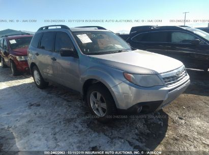 Salvage 2013 SUBARU FORESTER for sale