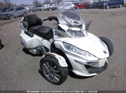 Salvage 2014 CAN-AM SPYDER ROADSTER for sale
